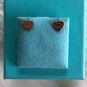 Tiffany & Co. Mini Rubedo Heart Earrings